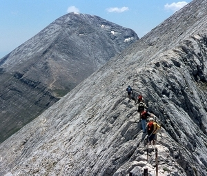 High Mountain Traverse in Bulgaria