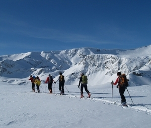 Ski tour in Rila and Pirin